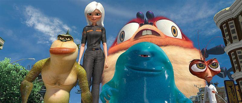 Monsters and Aliens