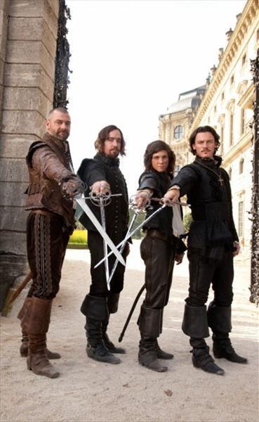 Trīs musketieri 3D