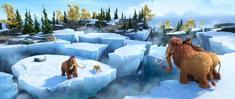 Ledus laikmets 4: Kontinentu dreifs