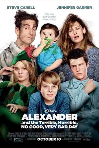 Aleksandrs un briesmīga, murgaina, neizdevusies, ļoti slikta diena