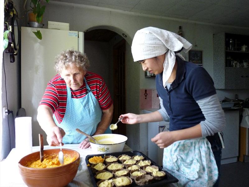 Lielais Kristaps. Ruch and Norie