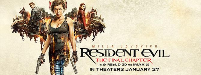 Resident Evil: The Final Chapter | Forum Cinemas