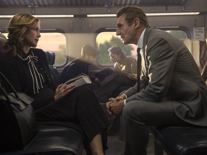 Cilvēks vilcienā