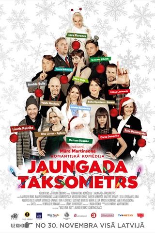 Jaungada taksometrs