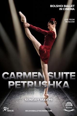 Maskavas Lielā teātra balets: KARMENAS SVĪTA/PETRUŠKA