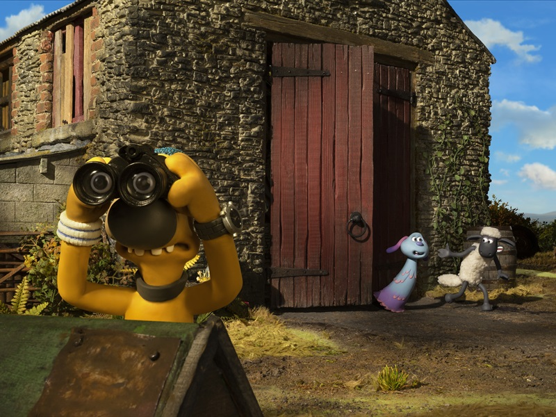 Auniņš Šons filma: Fermagedons