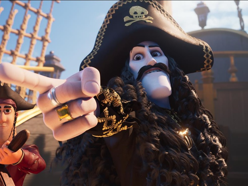 Kapteinis Zobenzobs un burvju briljants