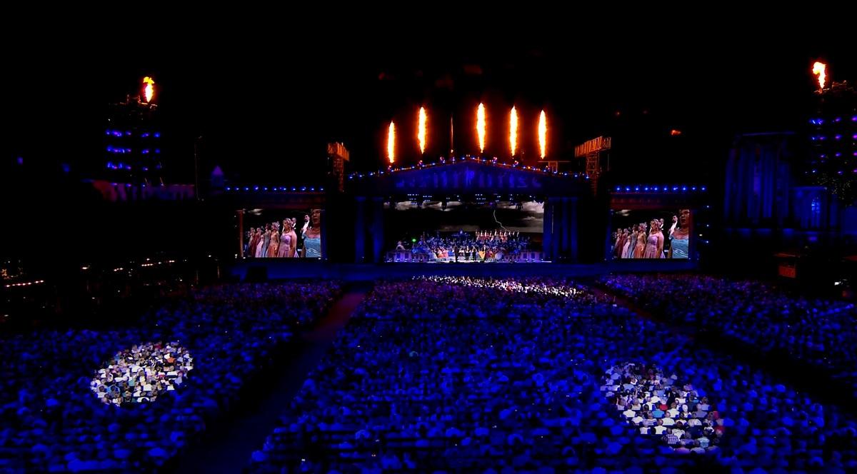 Andrē Rjē vasaras koncerts: Atkal kopā