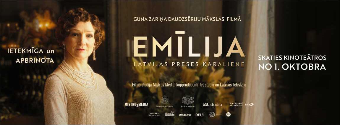 Emīlija. Latvijas preses karaliene   E01-02