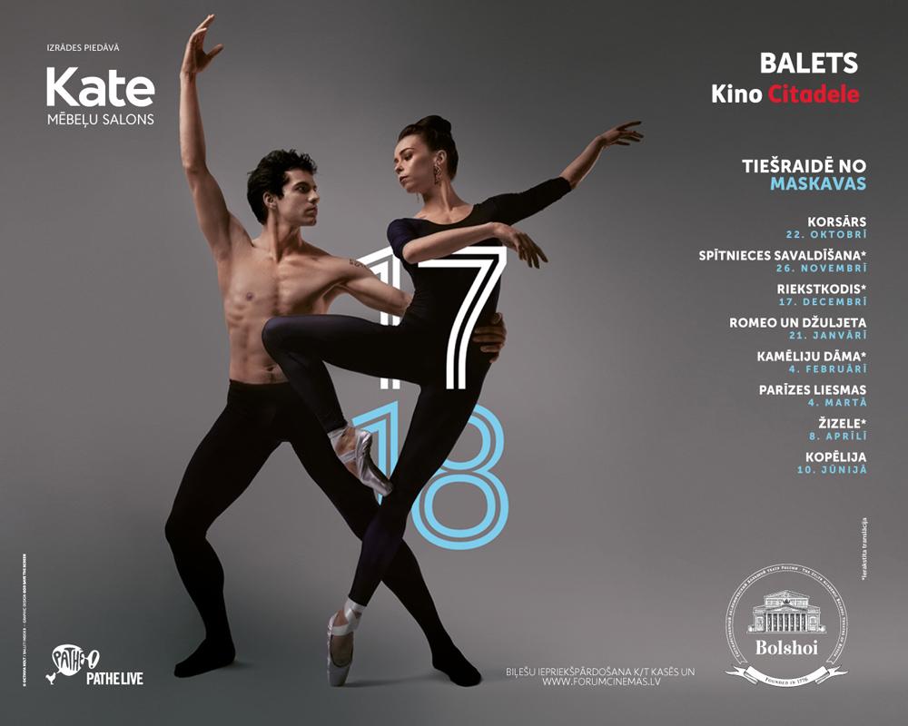 Lielā teātra balets no Maskavas