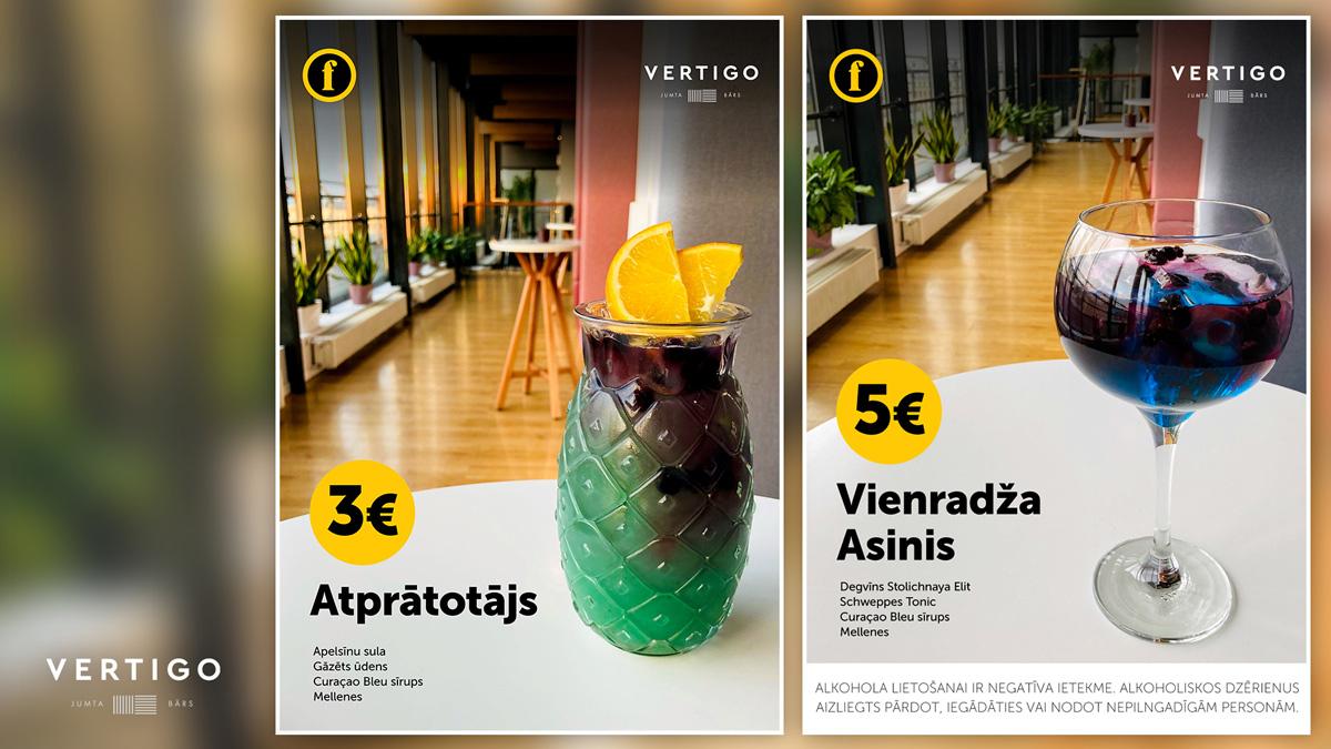 Vertigo - kokteiļi