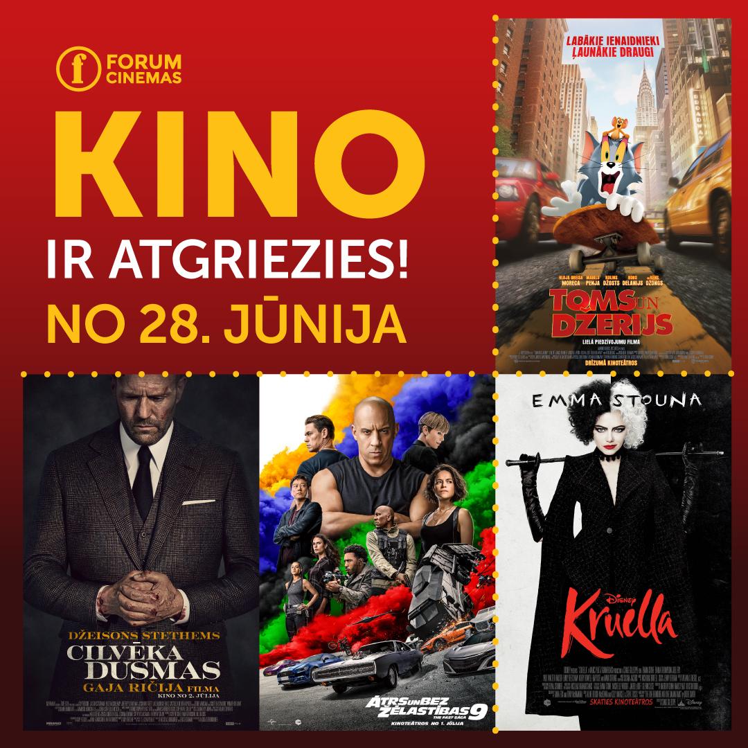 Forum Cinemas - Kino atgriezies