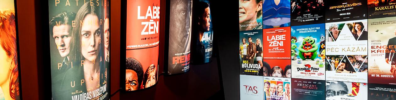 Reklāmas izvietošana kinoteātrī