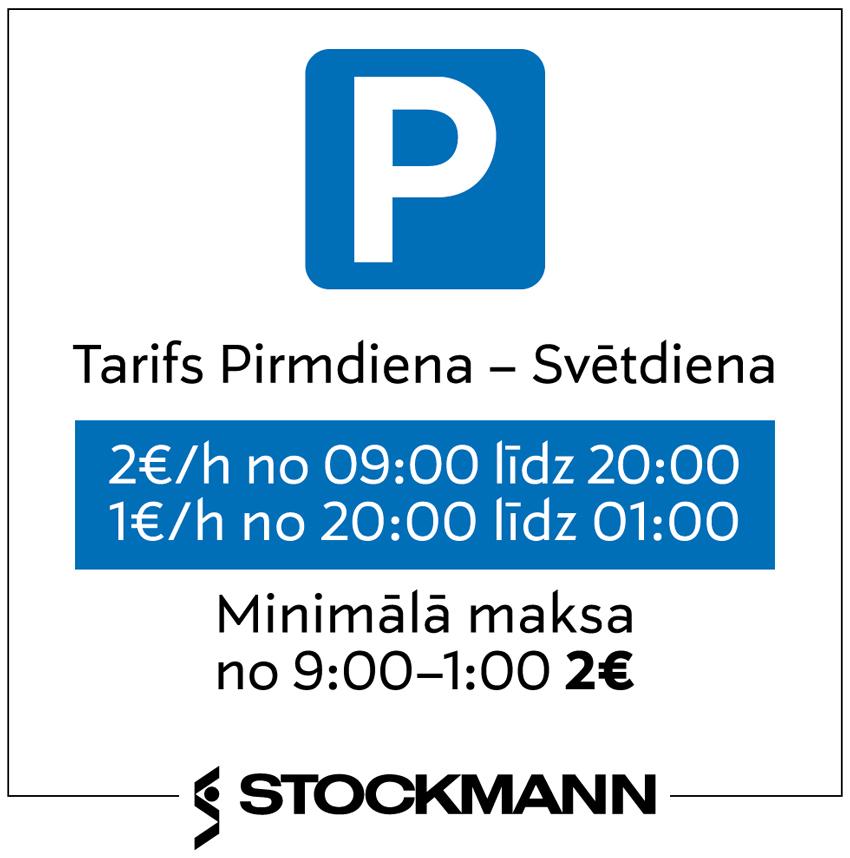 Stockmann autostāvvieta