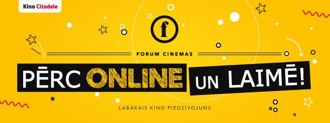 Pērc online un laimē!