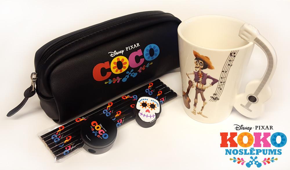 Koko noslēpums - balvas