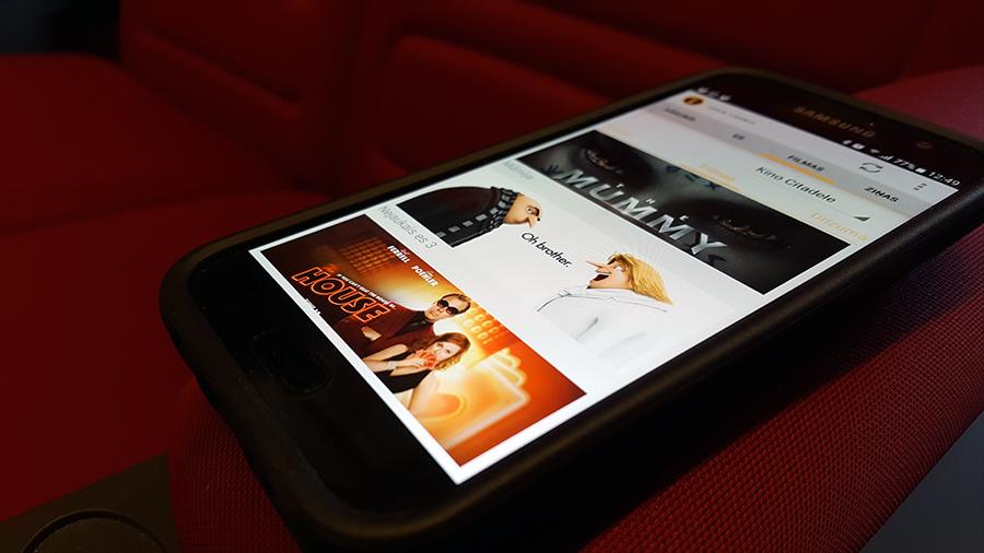 Forum Cinemas Mobile app
