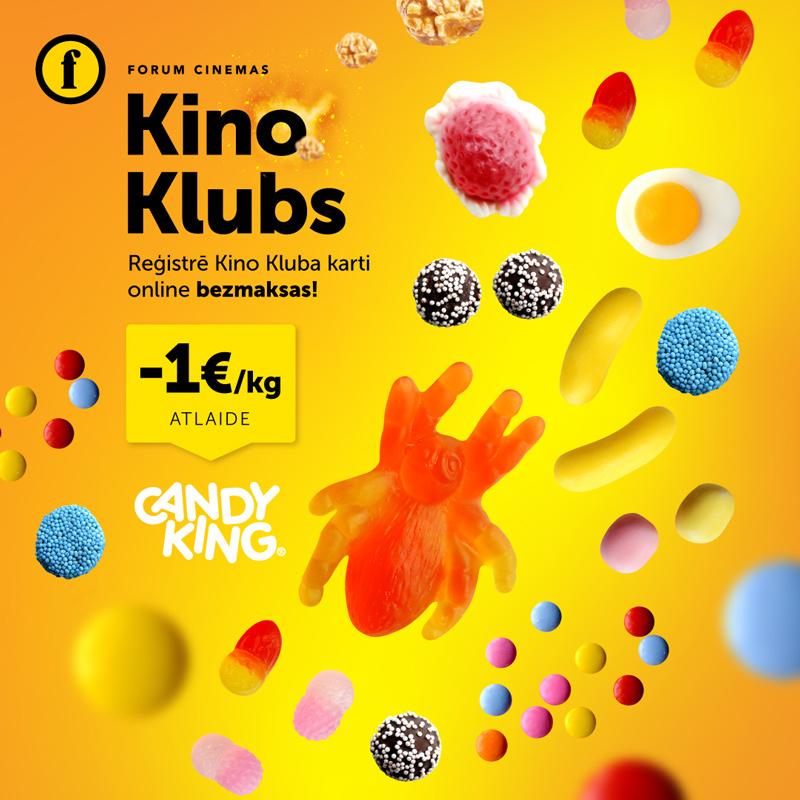 Kino Kluba atlaide Candy King