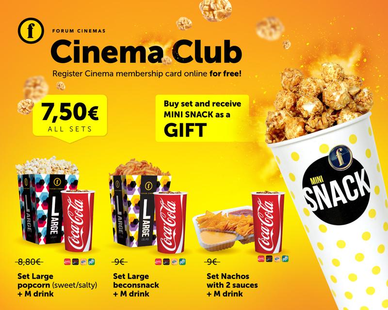 Kino Kluba komplekti