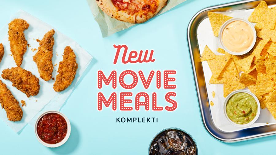 Movie Meals komplekti