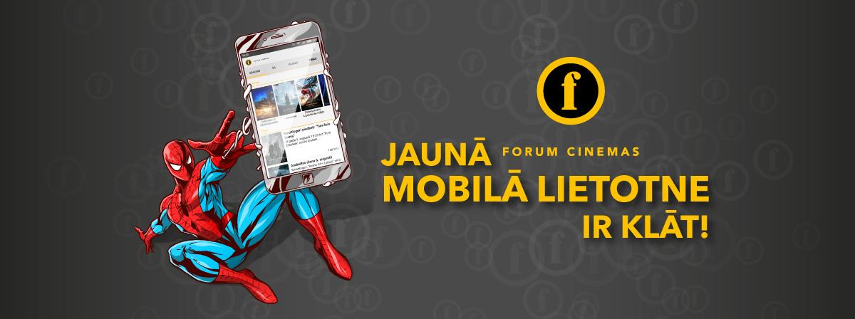 Forum Cinemas mobilā lietotne